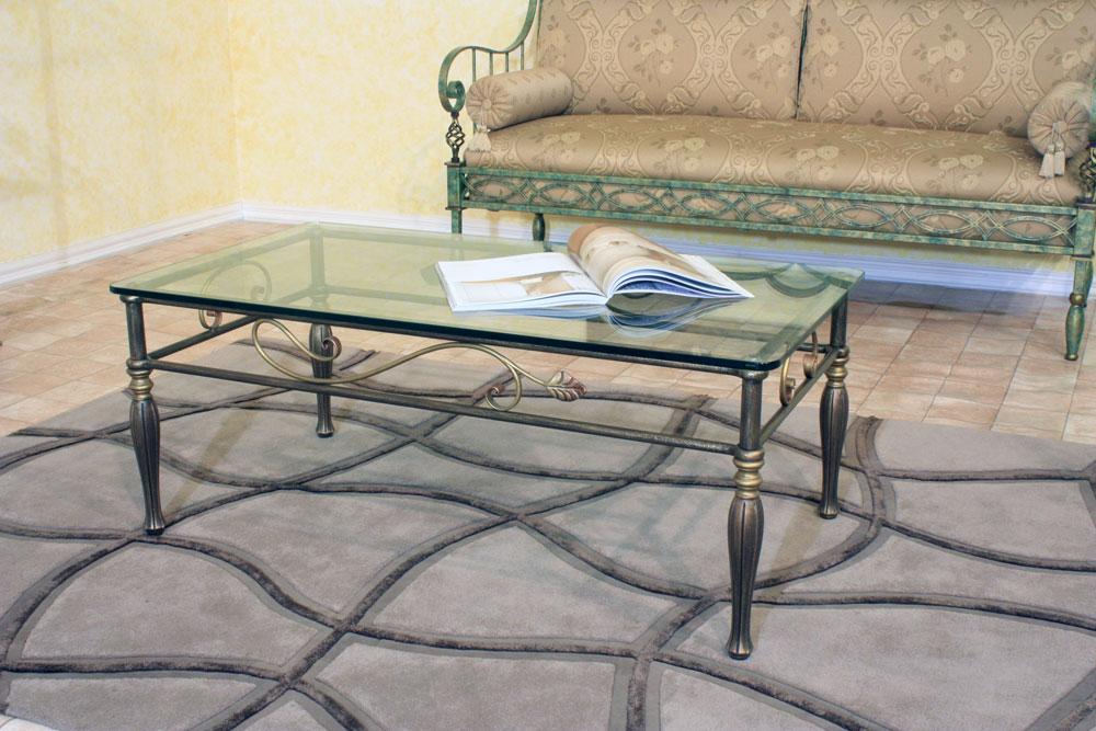 Tavolino in ferro battuto Iride